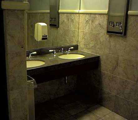 Commercial Bathroom Done In Marble